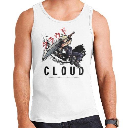 Final Fantasy Cloud Sketch Men's Vest