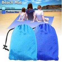 Sand Free Mat Camping Mat Outdoor Picnic Mattress Beach Mat Cushion With Hoppocket