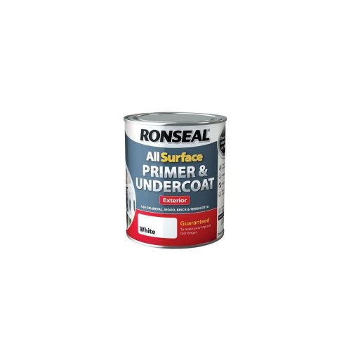 Ronseal All Surface Primer & Undercoat Exterior 750ml - White