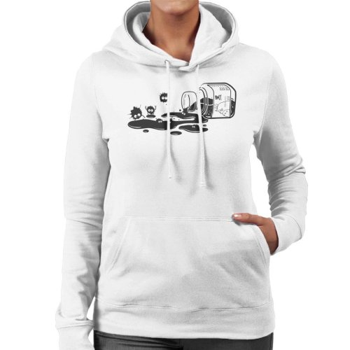 Ink Sprites Studio Ghibli Women's Hooded Sweatshirt