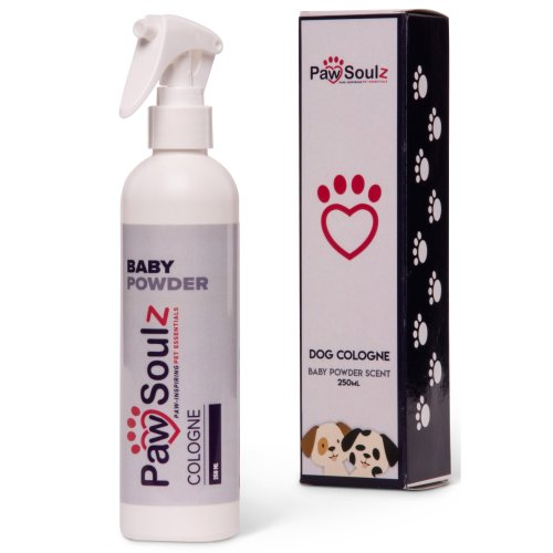 Paw Soulz Dog Perfume Spray - Cologne Baby Powder Scent