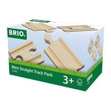BRIO Track - Mini Straight Pack