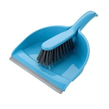 Elliott's Dustpan And Brush Set, Teal - Elliotts Set -  elliotts dustpan brush set teal