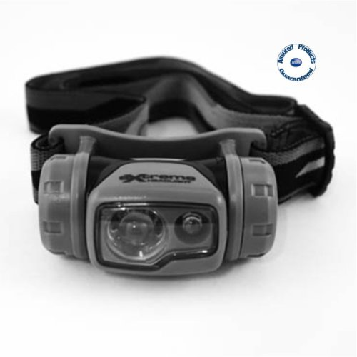 'Extreme' Dual Light Forehead LED Torch