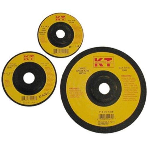 KT Industries 395925092 5-4250 5 x 0.25 x 0.87 in. Depressed Center Grinding Wheel