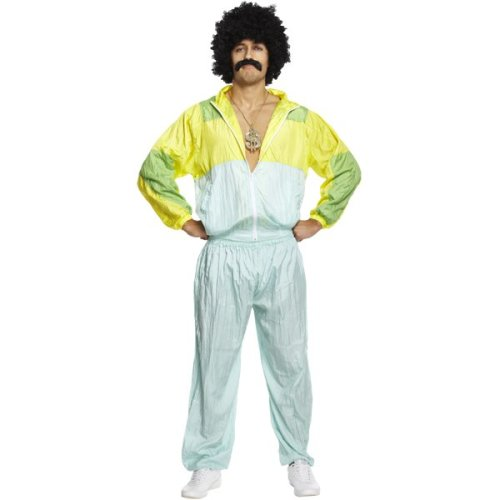 80's Scouser Shell Suit Fancy Dress Costume