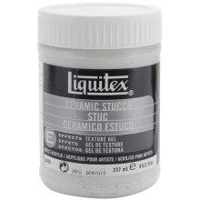 Liquitex Ceramic Stucco Acrylic Texture Gel-8oz