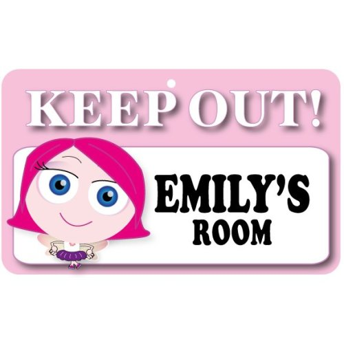 Keep Out Door Sign - Emily's Room