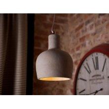 Ceiling lamp - Lighting - Pendant light - Concrete - Grey - INNOKO