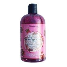 Philosophy JUICY POMEGRANATE Foaming Bubble Bath & Shower Gel 16 fl oz