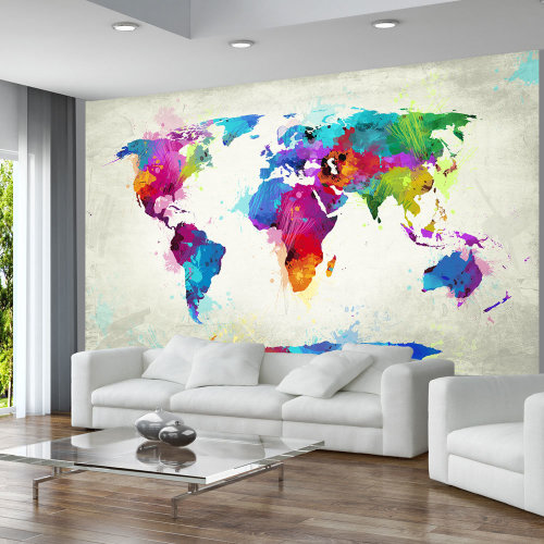 Wallpaper - The map of happiness