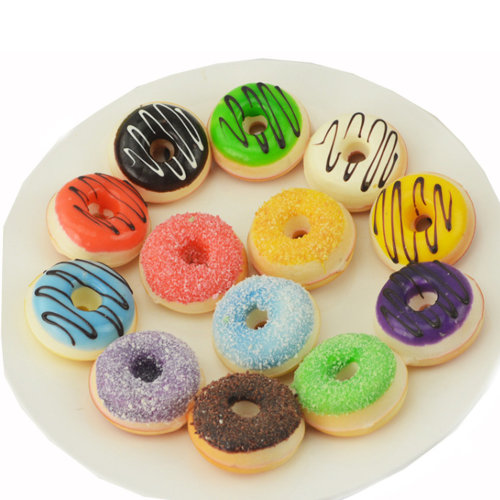 Assorted Fake Donuts Sets Pretend Play Toys for Kids
