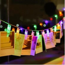 5M 40LEDs Photo Picture  String Light