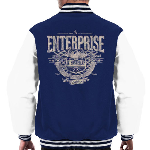 Enterprise Interstellar Star Trek Men's Varsity Jacket