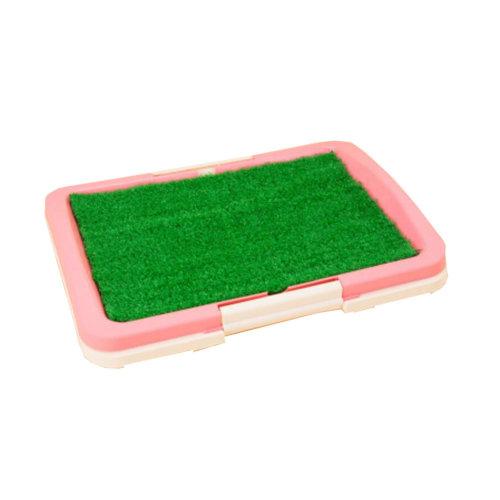 Dog Toilet Puppy Dog Pink Pet Potty Training Pad Pet Supplies 46 X 34 CM