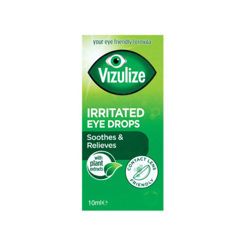 Vizulize Irritated Eye Drops Soothes & Relieves 10ml