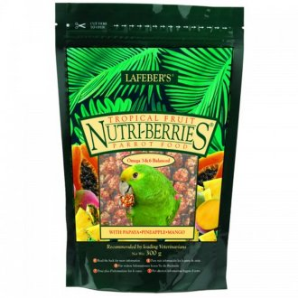 Lafeber Tropical Nutriberries Parrot Food