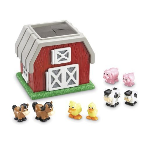Learning Resources Hide N Go Moo 9 Pieces