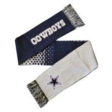 Forever Collectibles Dallas Cowboys Fade Nfl Scarf -  scarf nfl dallas cowboys fade official winter