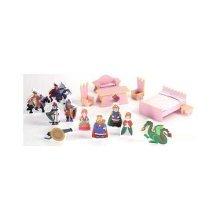 Badger Basket Accessory Set for Castle Doll House (16-Piece)