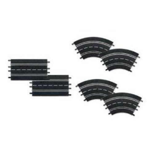 Extension set (2 straights,4 curves 1/30-DIGITAL 132/124/- Carrera CA26955