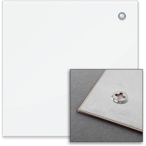 VivoLink VLGB68W Glass White magnetic board