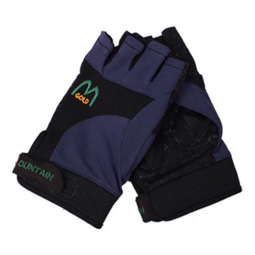 Women's Fitness Half Finger Climbing Gloves Outdoor Sport Gloves Fishing Gloves
