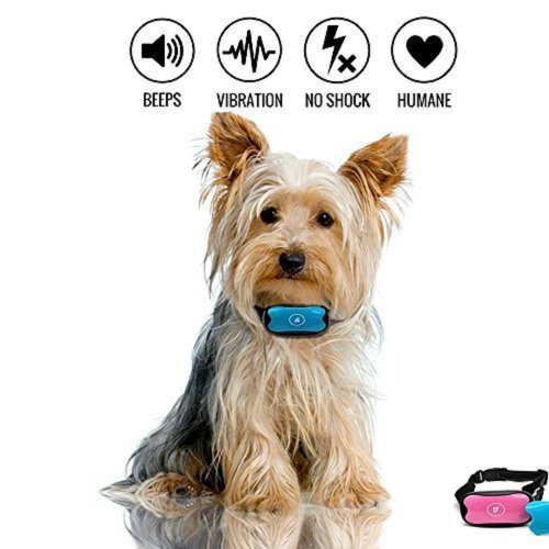 JAFAA Anti Barking Dog Collars Stop Dog Barking Best Anti Barking Device No Shock Anti Bark Collar Bark Control Training For Small Medium And Large...