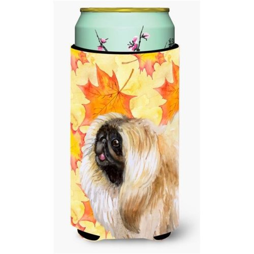 Carolines Treasures BB9942TBC Pekingese Fall Tall Boy Beverage Insulator Hugger