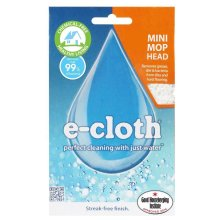 e-Cloth Classic Mini Mop Replacment Head - Hard Floor Cleaning with No Chemicals