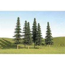 "Bachmann Industries Scene Scapes Trees 2""- 4"" Spruce Trees N Scale Train (36 Piece)"