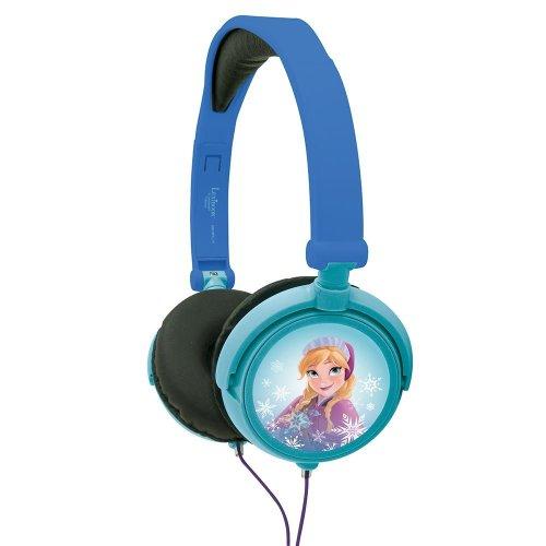 Lexibook HP010FZ Disney Frozen Foldable Stereo Kid's Headphone - Volume Limiter