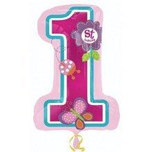 S/Shape:Sweet Birthday Girl - Foil Balloons 2980801