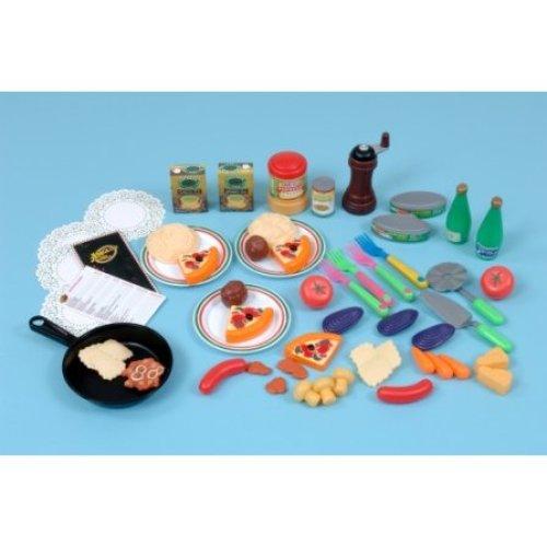 Childrens 54 Piece Italian Food Play Set (A1434)