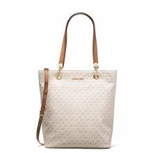 Michael Kors Raven Large North South Tote - Vanilla - 30S7GRXT3V-150