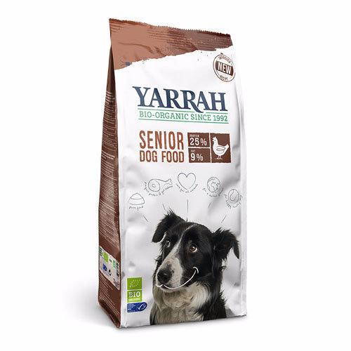 Yarrah  Senior Dog Food - Chicken & Msc Fish With Herbs 2kg
