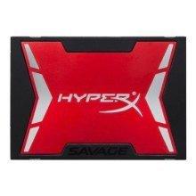 240GB Kingston HyperX Savage SATA3 SSD 2.5In Drive