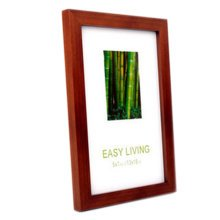 Decorative Wood 4-by-6-Inch Picture Photo Frame, Set Of 2, Coffee