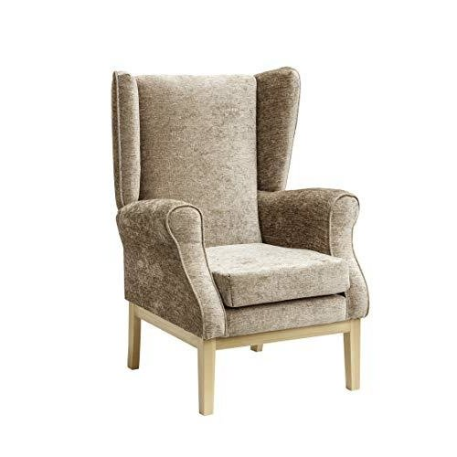 MAWCARE Ashbourne Orthopaedic High Seat Chair - 19 x 18 Inches [Height x Width] in Darcy Fawn (lc23-Ashbourne_d)