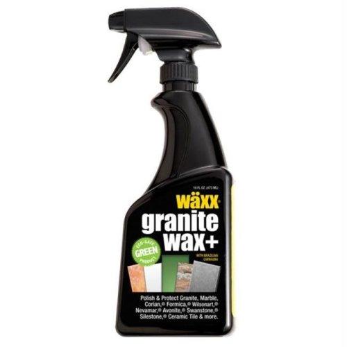 GRX 22806 Flitz Granite Waxx Plus - Seal & Protect - 16oz Spray Bottle