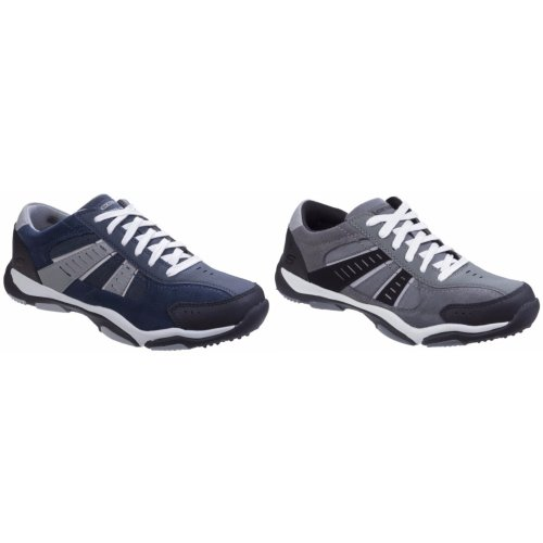 Skechers Mens Larson Sotes Lace Up Trainers