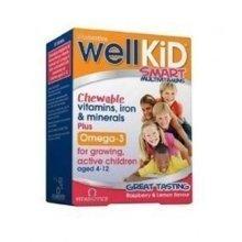 Vitabiotics - Wellkid Chewable 30 VTabs