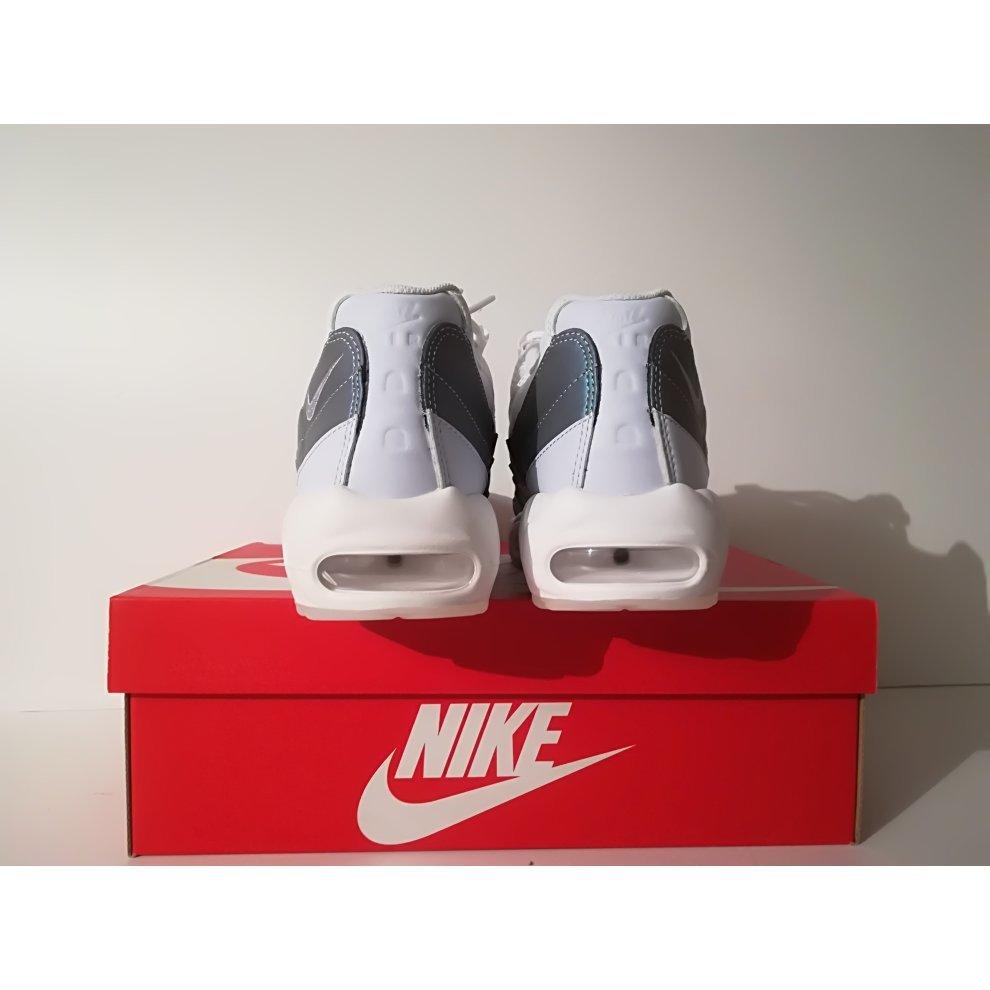 81b574faa ... Nike Air Max 95 Premium Glacier Blue White - 3 ...