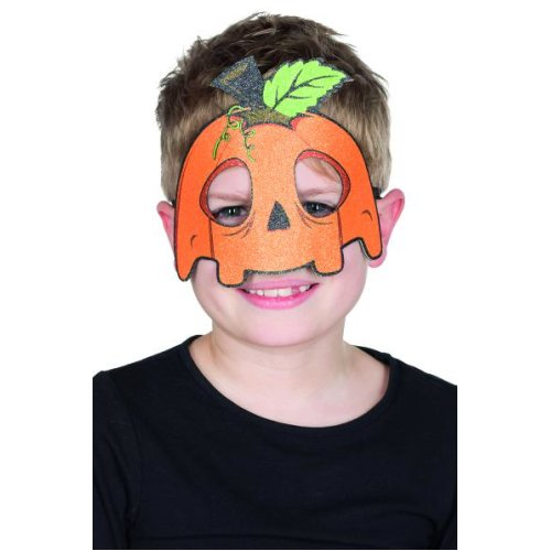Children mask pumpkin funny Halloween carnival accessory Size STD