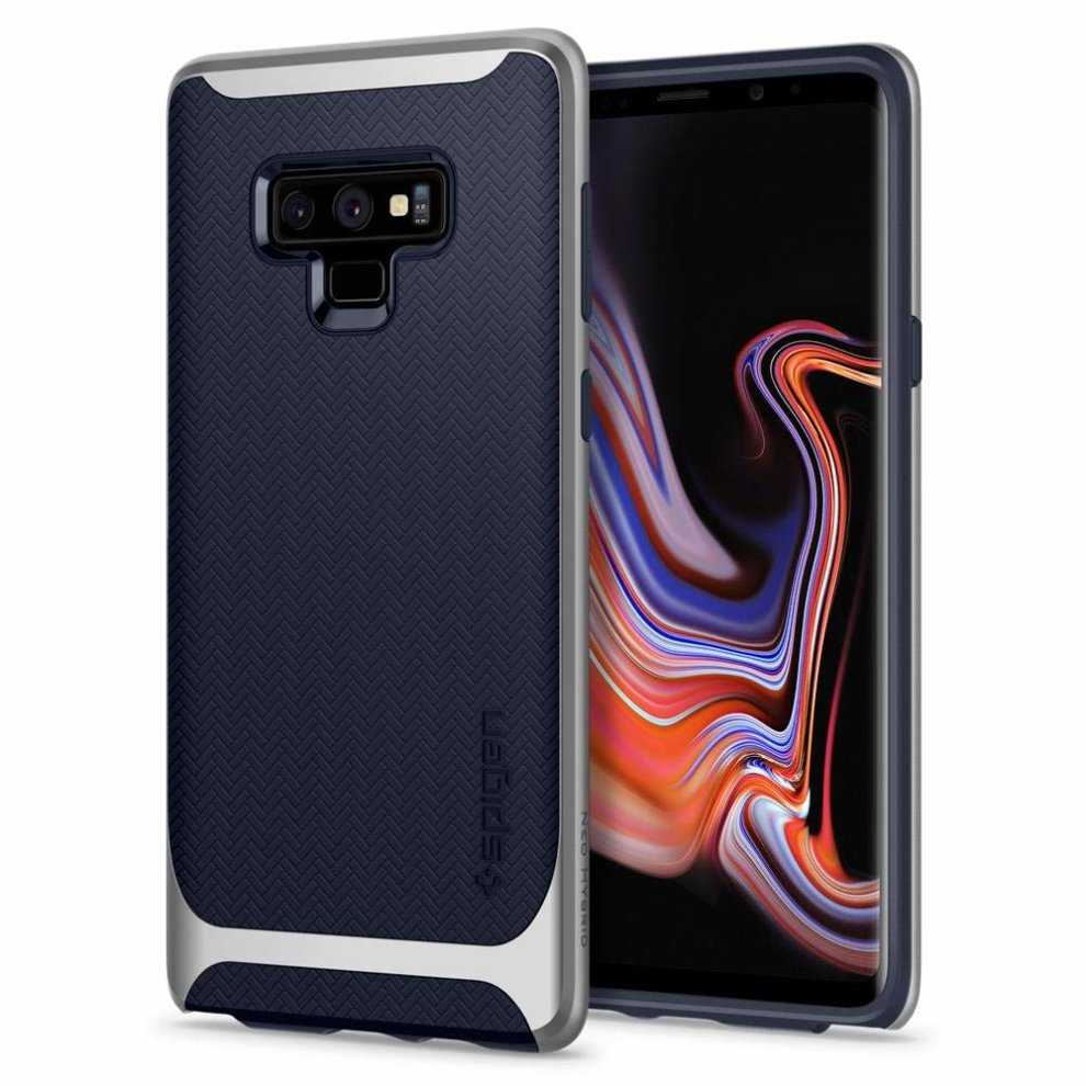 huge discount aac3e 60f24 Spigen [Neo Hybrid] Galaxy Note 9 Case with Herringbone Flexible Inner  Protection and Reinforced Hard Bumper Frame for Galaxy Note 9 (2018) -...