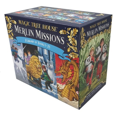 Magic Tree House Merlin Missions #1-25 Boxed Set (Mth Merlin Mission)