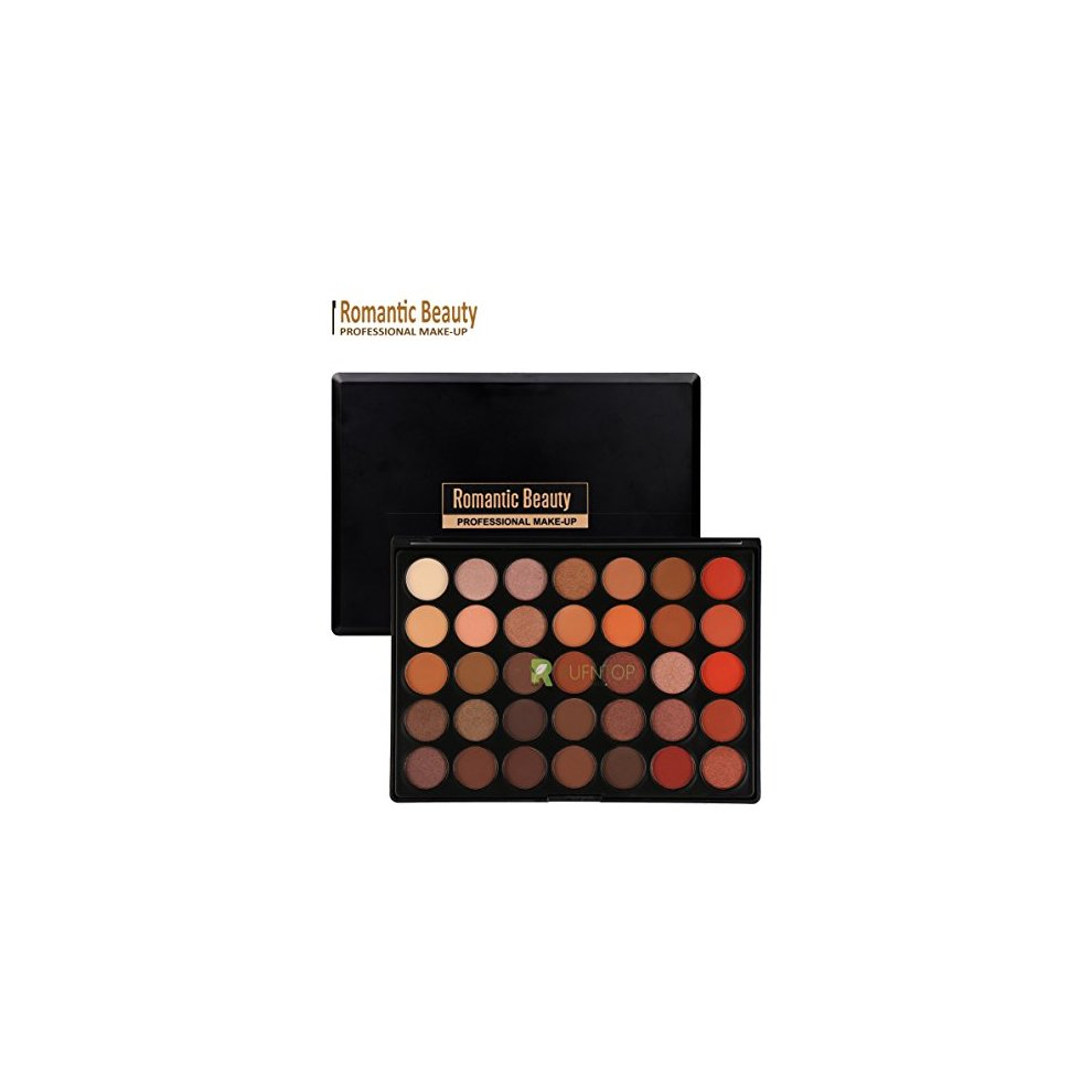 ec0af46584cf Romantic Beauty Pro 35 Colors Eyeshadow Palette Eye Shadow Powder Make Up  Waterproof Cosmetics(E304)