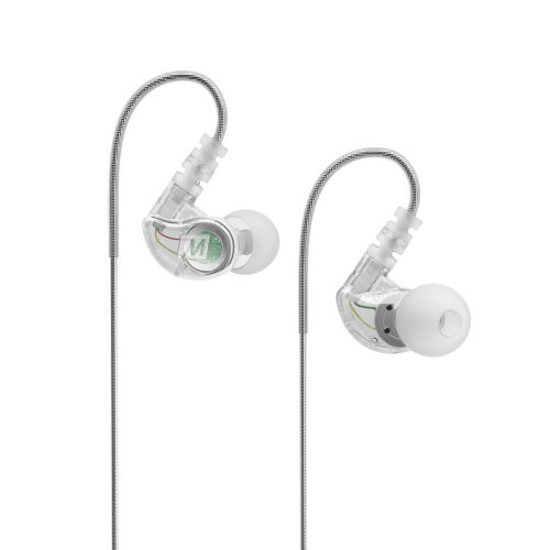 MEE Audio M6G2 In-Ear Sports Headphone¦Noise-Isolating¦(2018 VERSION)¦Clear¦NEW