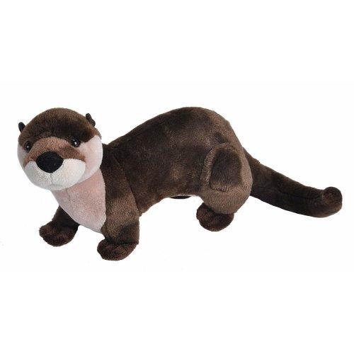 Wild Republic River Otter Plush Soft Toy, Cuddlekins Cuddly Toys, Gifts for Kids 30cm
