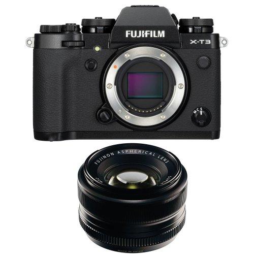 FUJI X-T3 Black + XF 35MM F1.4 R Black